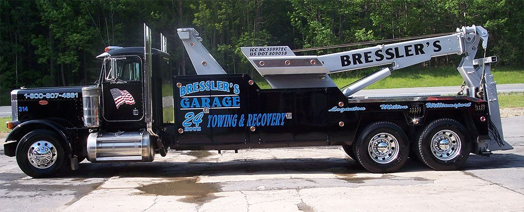 Equipment Heavy Duty Towing Amp Recovery Bresslers Garage